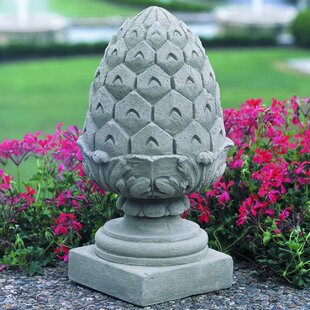 Beautiful Wooden Pineapple Finial | Wayfair EQ98