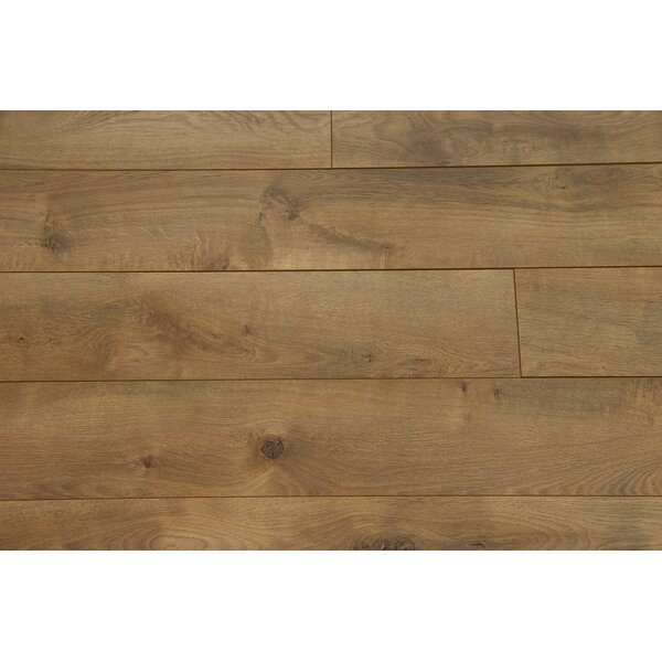 Zurich 6.12 x 47.25 x 12mm Oak Laminate Flooring in Nutmeg by Branton Flooring Collection