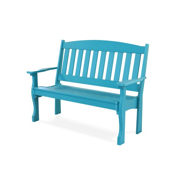 Leeroy Garden Bench by August Grove
