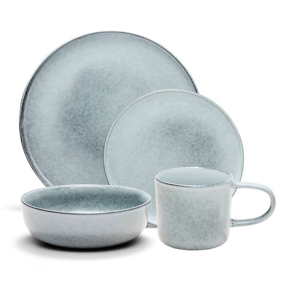 Briella 16 Piece Dinnerware Set, Service for 4 by Millwood Pines