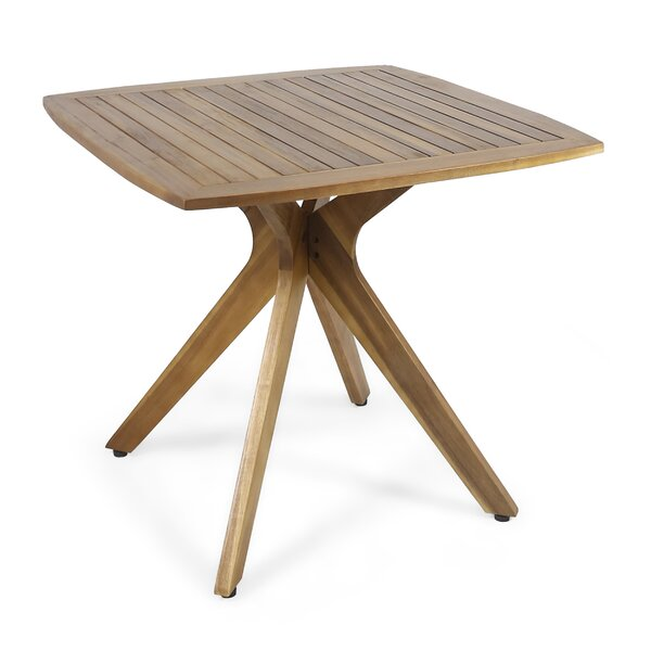 Pals Wooden Dining Table by George Oliver