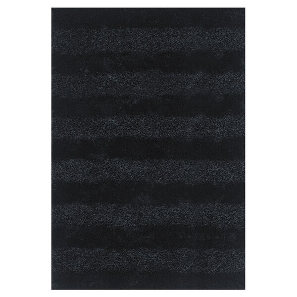 Reith Black Area Rug by Mercer41