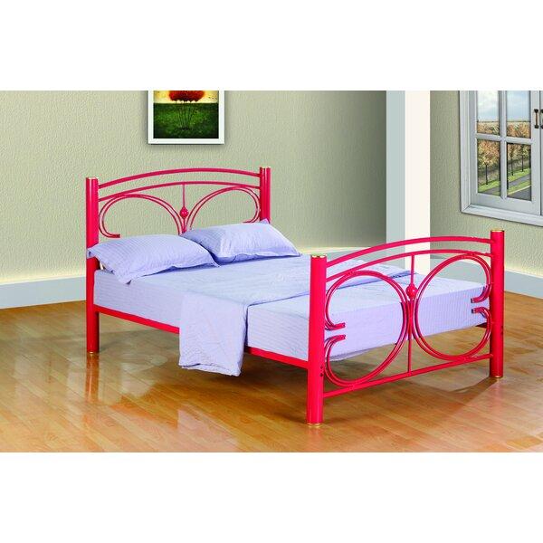 Clint Metal Butterfly Slat Bed by Zoomie Kids
