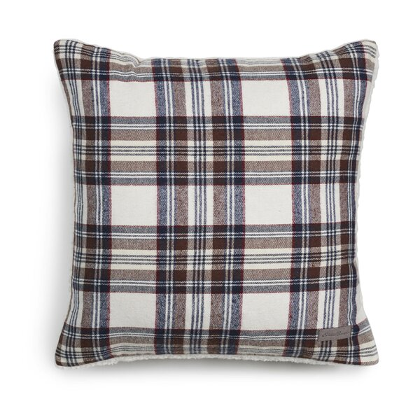 Edgewood Plaid Cotton Throw Pillow by Eddie Bauer