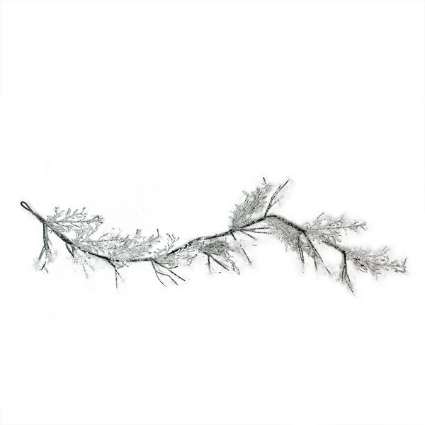 Ice and Snowflakes on Twig Garland by The Holiday Aisle