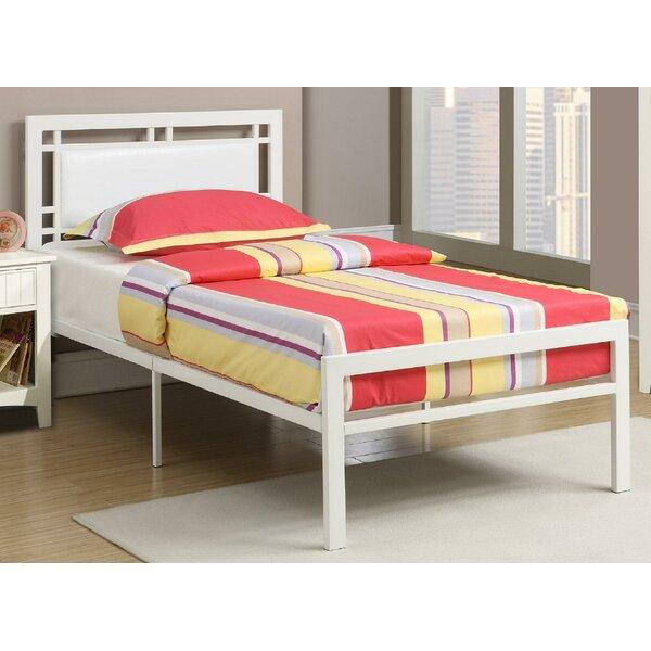 Simonsen Upholstered Platform Bed by Harriet Bee