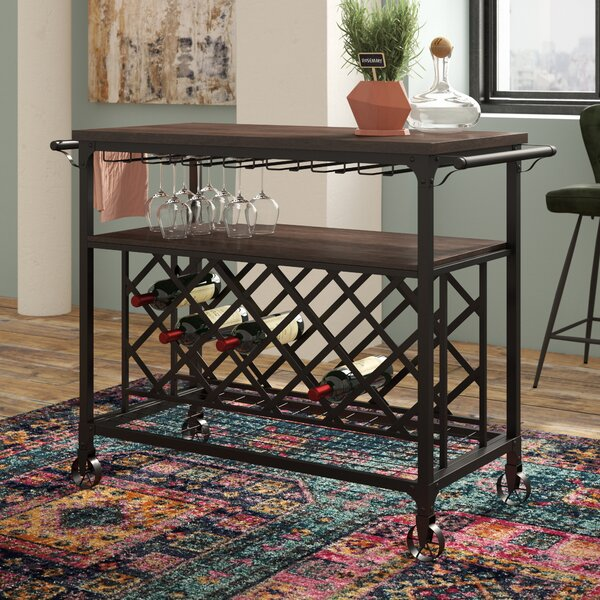 Billancourt Bar Cart by Trent Austin Design Trent Austin Design