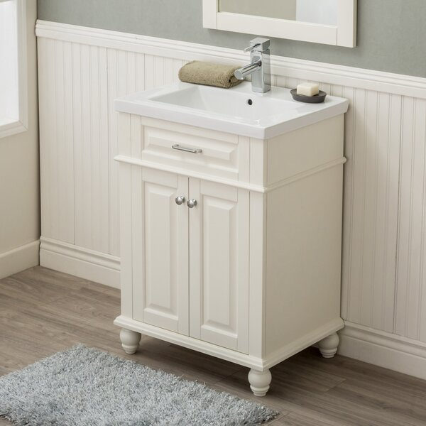 Durrah 24 Single Sink Bathroom Vanity by Rosecliff Heights