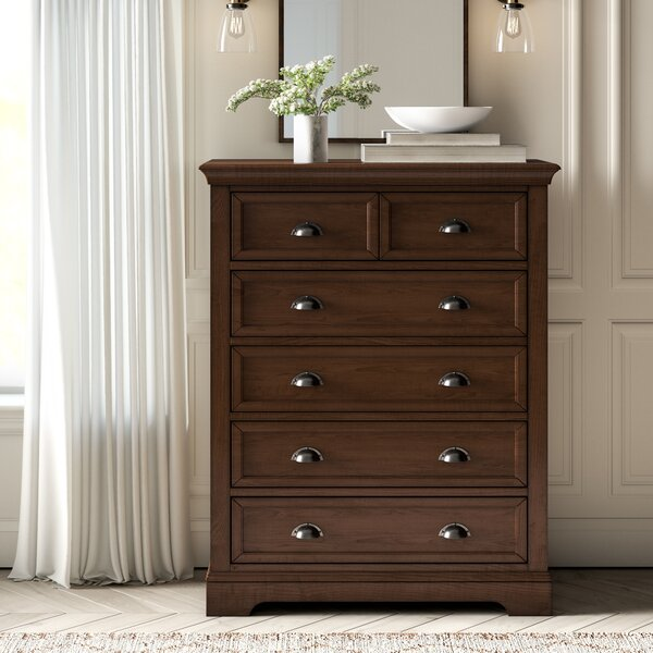 Best  Appleby 6 Drawer Chest By Greyleigh Top Reviews