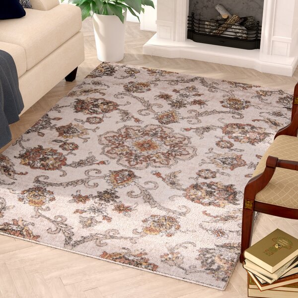 Arend Faux Leather Multi-Colored Area Rug by Charlton Home