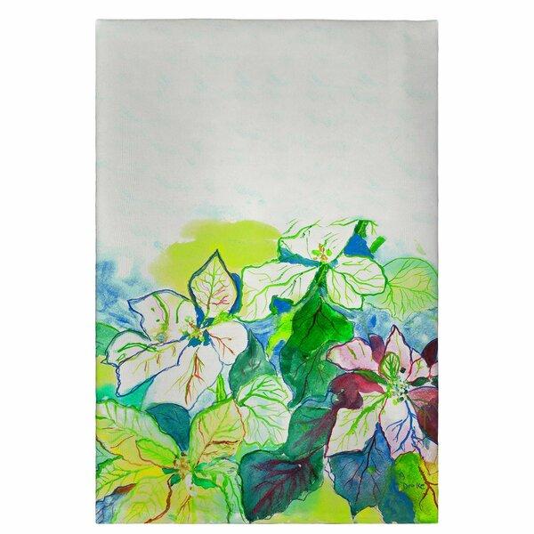 Poinsettia Hand Towel [Betsy Drake Interiors]