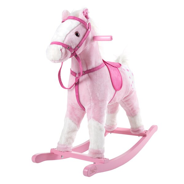 Wooden Rocking Horse by Happy Trails