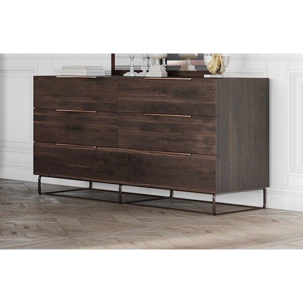 Kinzey 6 Drawer Double Dresser by Brayden Studio