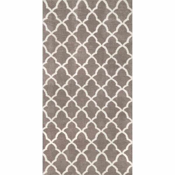 Block Island Grey Gustav Faux Area Rug by nuLOOM