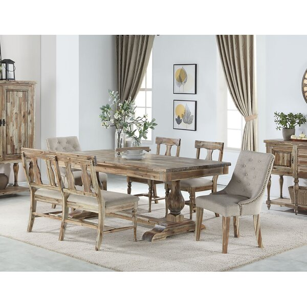 Karli Solid Wood Dining Table by One Allium Way One Allium Way