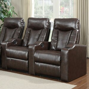 Home Theater Recliner (Row of 2) & Theater Seating Youu0027ll Love | Wayfair islam-shia.org