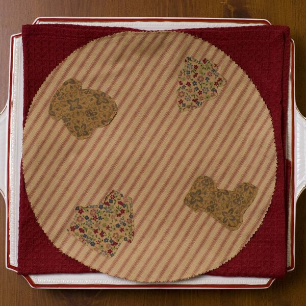 Cookie Cutter Placemat (Set of 6) by The Holiday Aisle