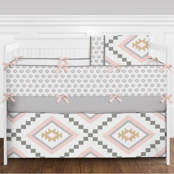 Aztec 9 Piece Crib Bedding Set by Sweet Jojo Designs