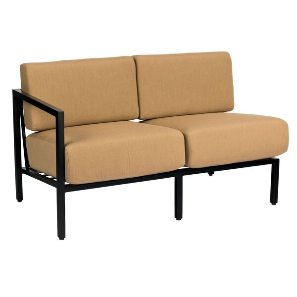 Salona Loveseat with Cushions by Woodard