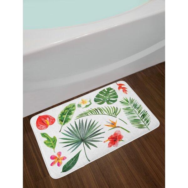 Aloha Bath Rug by East Urban Home