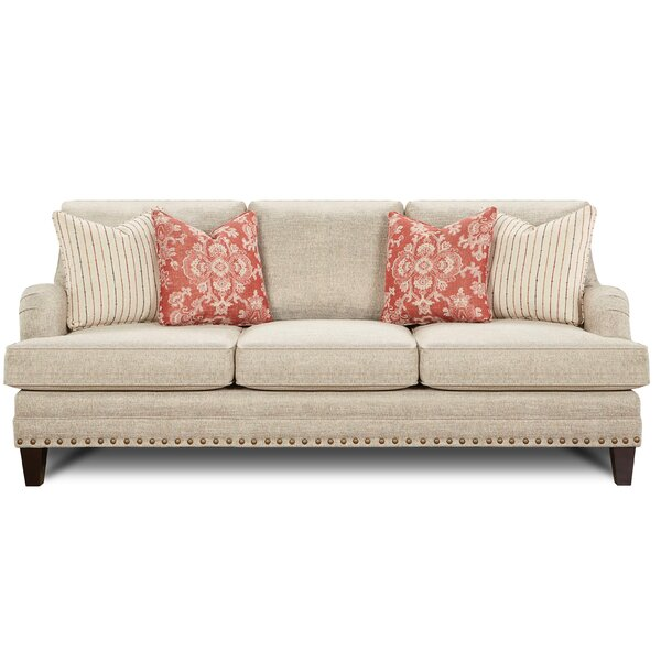 Gurdon Muslin Sofa by Darby Home Co