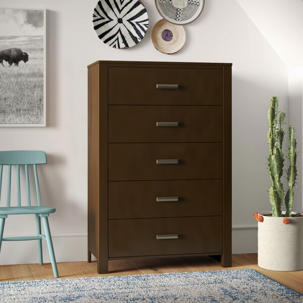 Gareth 5 Drawer Chest by Mistana