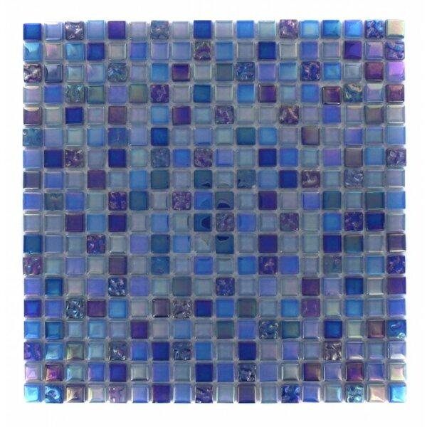 Capriccio 0.6 x 0.6 Glass Mosaic Tile in Battipaglia by Splashback Tile