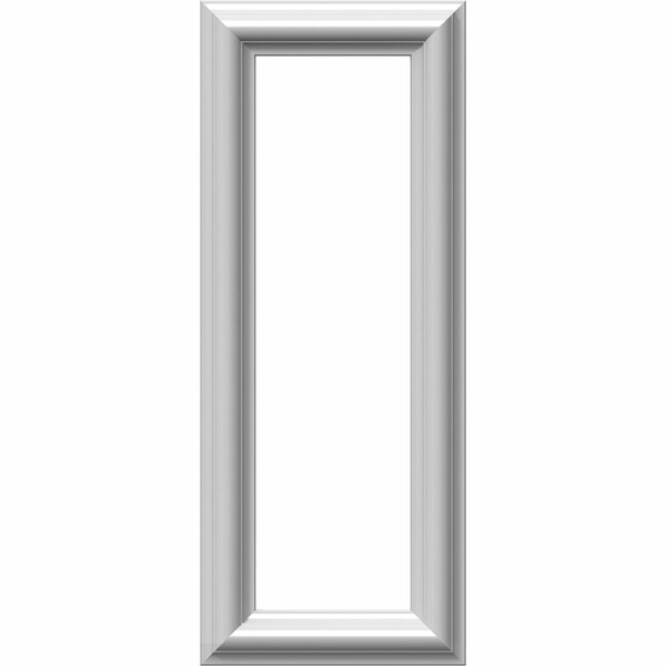 Ashford 20H x 8W x 1/2D Molded Classic Wainscot Wall Panel by Ekena Millwork