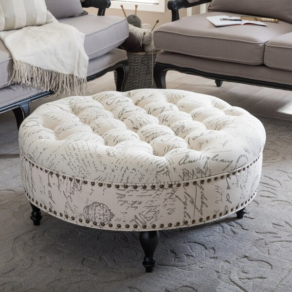 Baxton Studio Palfrey Cocktail Ottoman by Wholesale Interiors