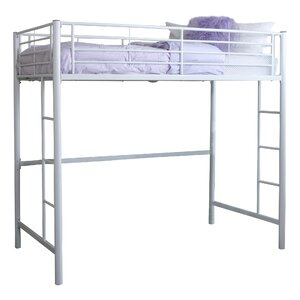 Belfort Charmaine Metal Twin Loft Bed