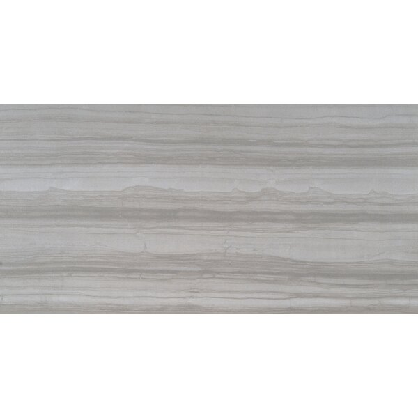 Sophie Gray 12 X 24 Porcelain Wood Look Tile in Gray by MSI