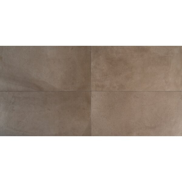 Capella Silt 12 x 24 Porcelain Field Tile in Brown by MSI