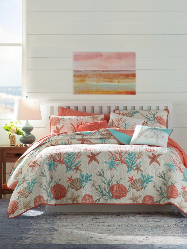 Amazing Keyport 6 Piece Quilted Coverlet Set