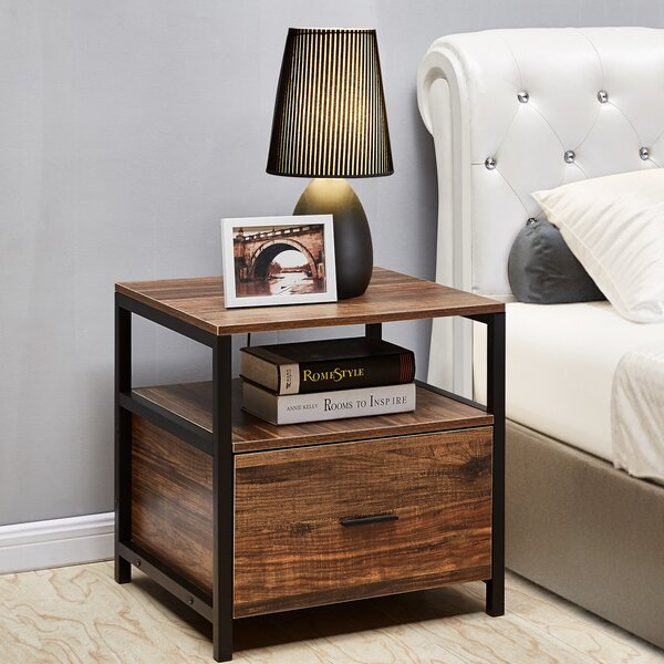 Holton 1 Drawer Nightstand By Union Rustic
