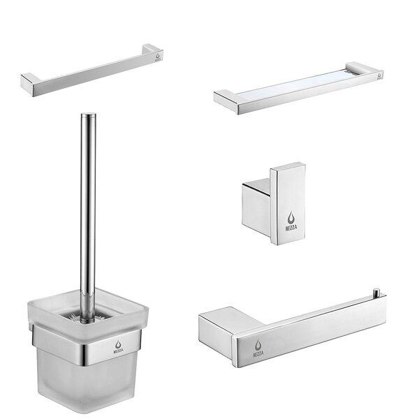 5 Piece Bathroom Hardware Set by Nezza