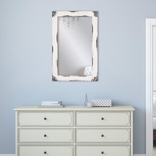 Find Tryphena Distressed Reclaimed Wall Mounted Mirror ByGracie Oaks