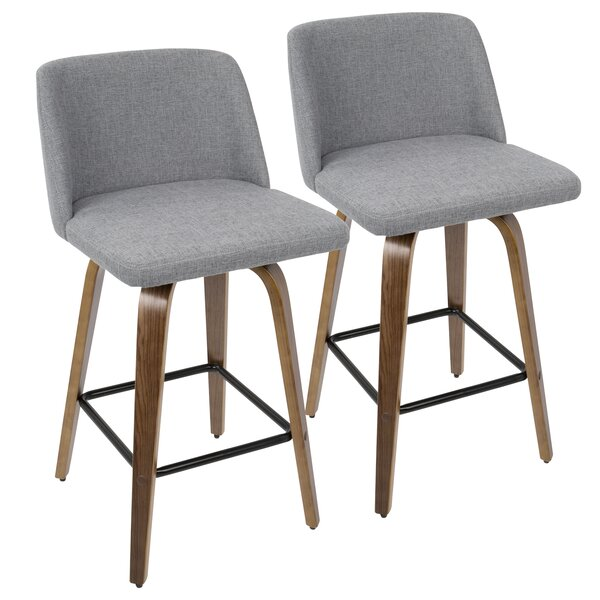 Fleeman 25.5 Bar Stool (Set of 2) by Mercury Row