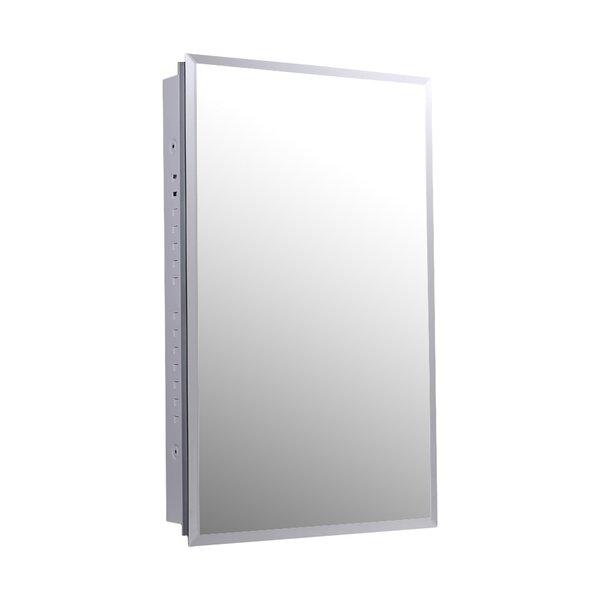 Jadon 16 X 36 Recessed Medicine Cabinet by Ebern Designs