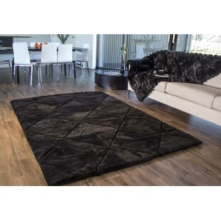 Price Check Shortwool Black Design Rug By Bowron Sheepskin Rugs