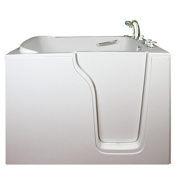Bariatric Seat Air and Hydro Massage Whirlpool Walk-In Tub by Ella Walk In Baths