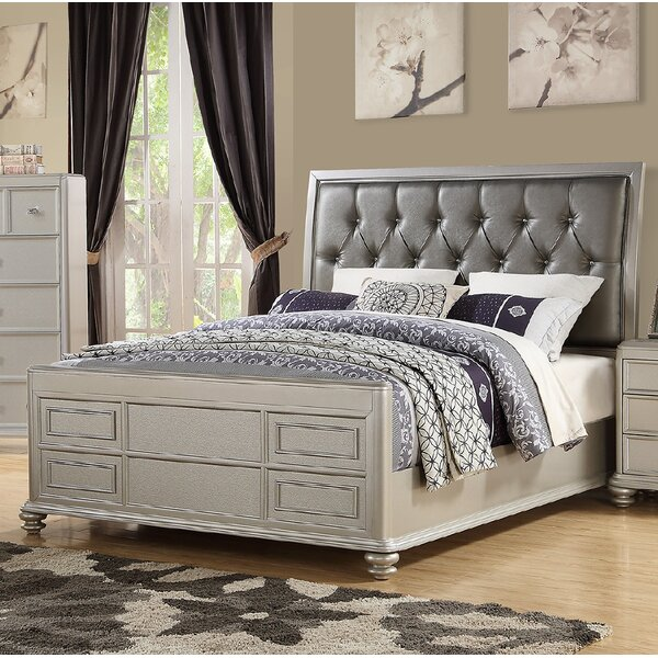 Lorain Upholstered Standard Bed by Rosdorf Park