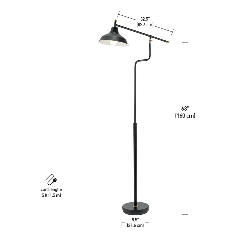 5 Arm Floor Lamp Q House