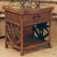 Cypress 1 Drawer Nightstand by Bay Isle Home