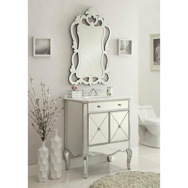 Zadie 30 Single Bathroom Vanity Set with Mirror