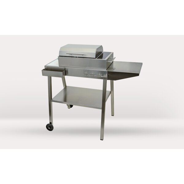 14.5 Frontier Portable Electric Grill with Side Shelves by Kenyon