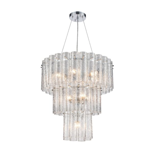 Boyland 11 - Light Unique / Statement Tiered Chandelier by House of Hampton House of Hampton