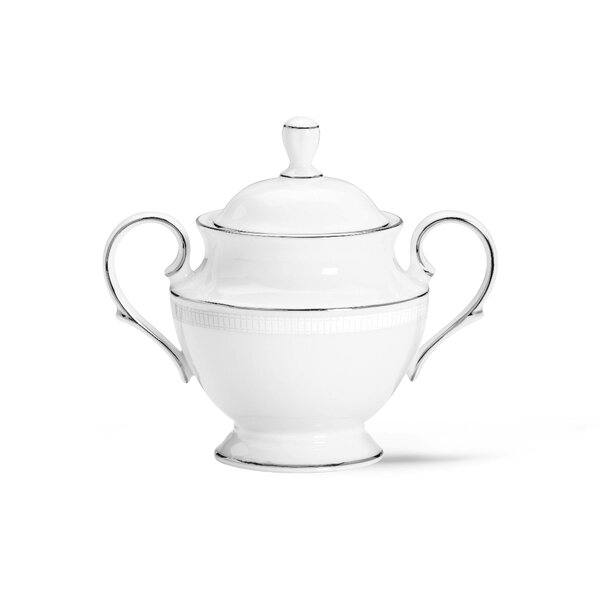 Tribeca Sugar Bowl with Lid by Lenox