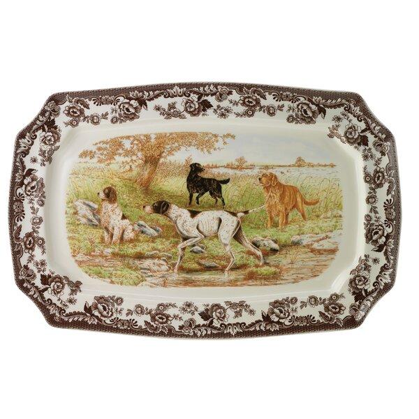 Woodland Rectangular Platter by Spode