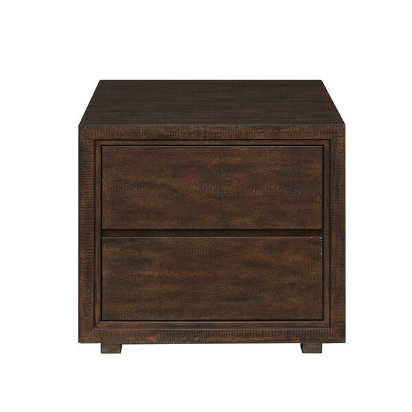 Bay End Table With Storage By Harbor House