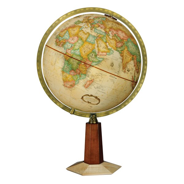 Frank Lloyd Wright Leerdam Globe by Replogle Globes